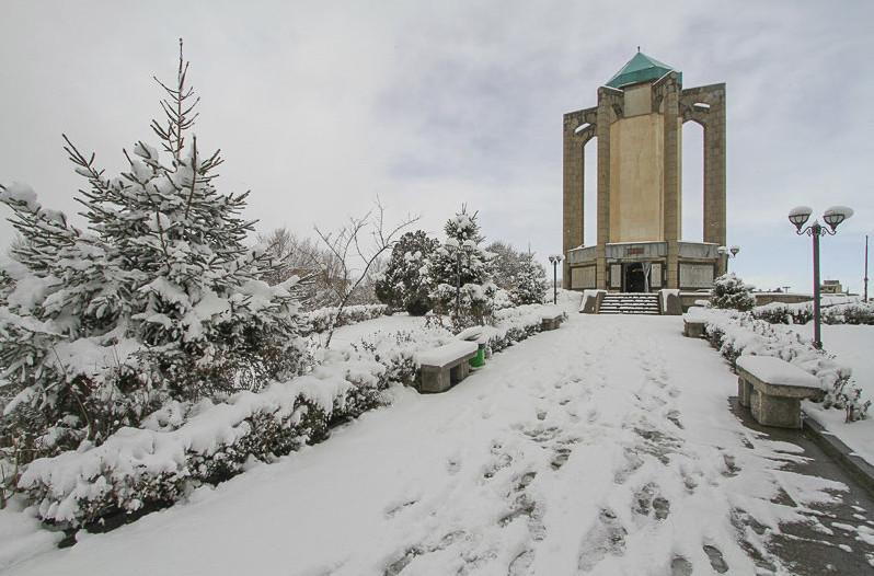 همدان سرد ترین مرکز استان کشور و ادامه کاهش دما در استان