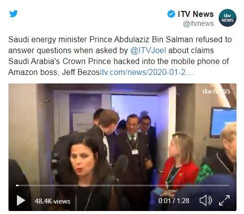 پاسخ وزیر انرژی عربستان به پرسش خبرنگار انگلیس: تو احمقی!+ فیلم