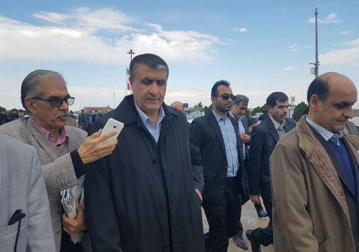 ورود وزیر راه و شهرسازی به استان گلستان