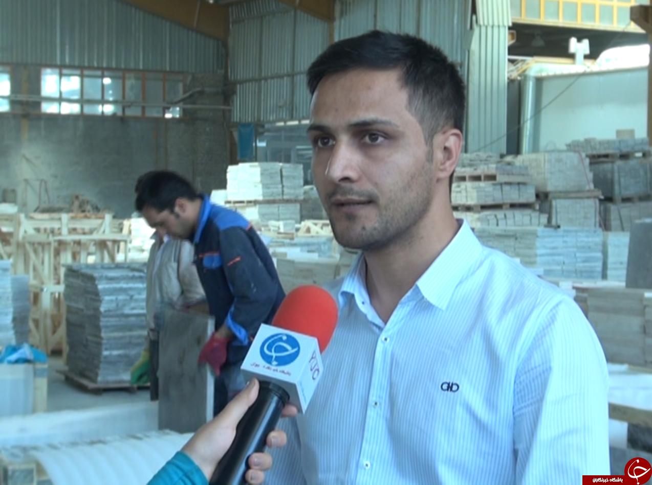 زنجان دومین استان تولید کننده سنگهای معدنی در کشور/ خام فروشی سنگ هست،اما جزئی