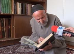 پدربزرگ ۱۲۳ ساله زنجانی از راز سلامتی اش میگوید