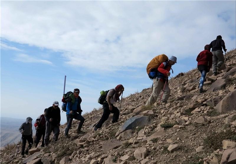 برگزاری همایش کوهپیمایی در چوار