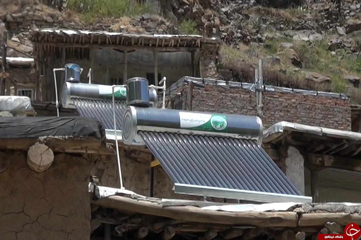 نجات جان جنگلهای ایران با کمک آبگرمکن خورشیدی