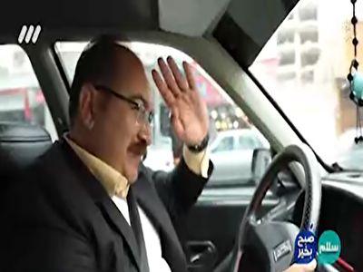 وقتی نامزد انتخابات مجلس راننده تاکسی میشود + فیلم