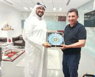 بازدید قلعه نویی از امکانات آکادمی تیم های ملی قطر