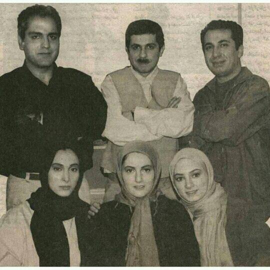 عکس زیرخاکی از مهران مدیری و بازیگران سریال «پاورچین»