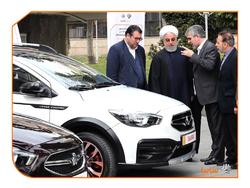۴ خودروی رونمایی شده در حیاط دولت را بشناسید