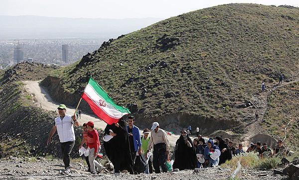 برگزاری پویش فجر تا نوروز در شهرستان دهلران
