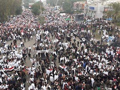 کلیپ دیدنی «آمریکا برو بیرون» همزمان با راهپیمایی میلیونی مردم عراق