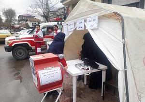 جمع آوری کمکهای مردمی به سیل زدگان در پایگاههای نمازجمعه