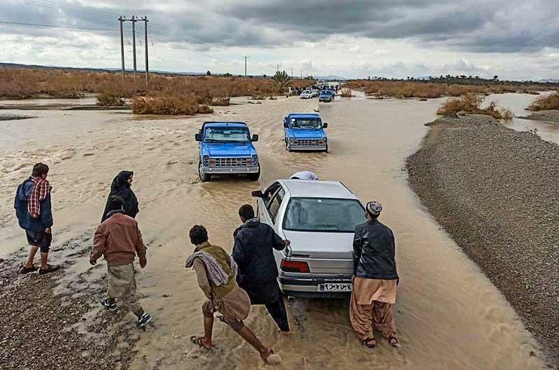 امدادرسانی به بیش از ۳۲ هزار خانوار سیل زده درجنوب سیستان و بلوچستان