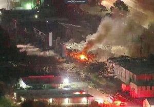 انفجار هیوستون آمریکا ۲ کشته بر جا گذاشت