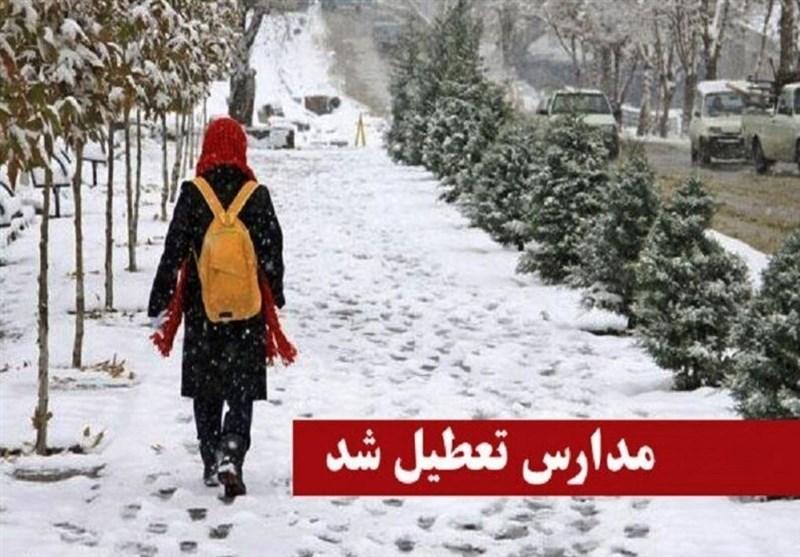 تعطیلی مدارس استان همدان در روز شنبه
