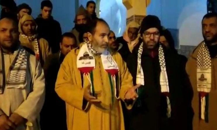 تظاهرات ضدصهیونیستی مردم مراکش و سانسور شدید رسانهها