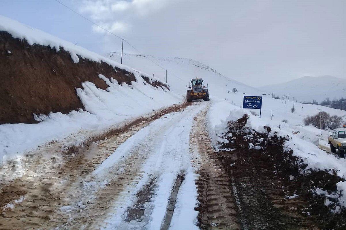 مسیر ۶۵ روستای شهرستان ابهر بازگشایی شد