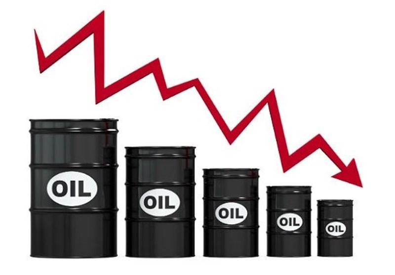 کاهش قیمت نفت برنت طی یک سال اخیر