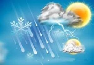وضعیت آب و هوا در ۵ بهمن/ آسمان تهران کمی ابری است+ جدول