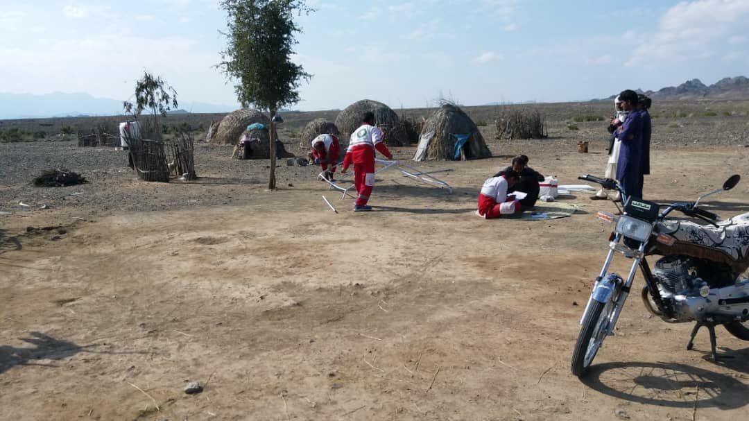 امدادرسانی به بیش از  ۳۵ هزار خانوار سیل زده در جنوب سیستان و بلوچستان