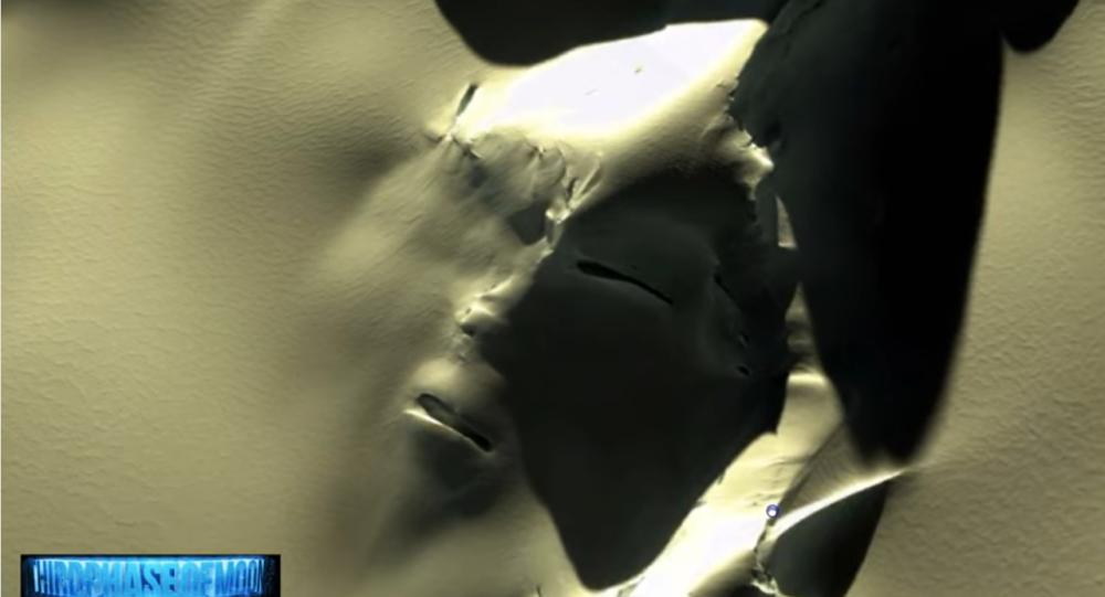 چهره شگفتانگیز موجود فضایی در قطب جنوب + غکس
