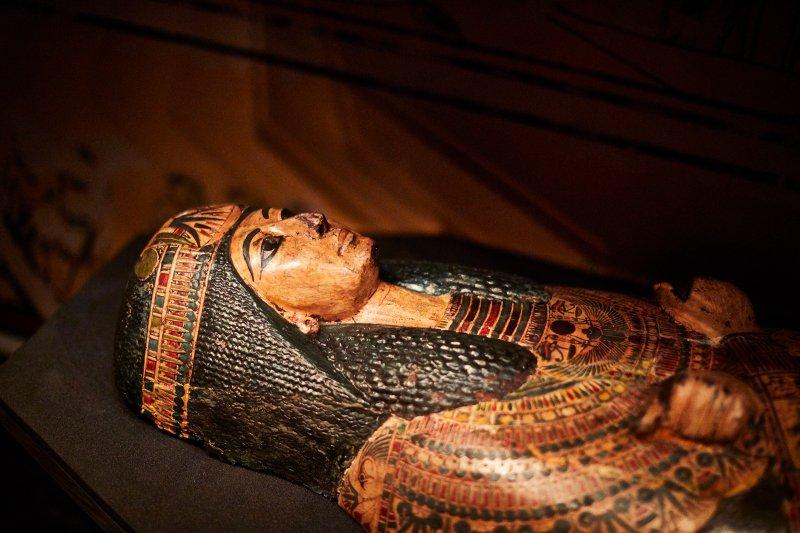 صحبت کردن مومیایی ۳۰۰۰ ساله مصری !