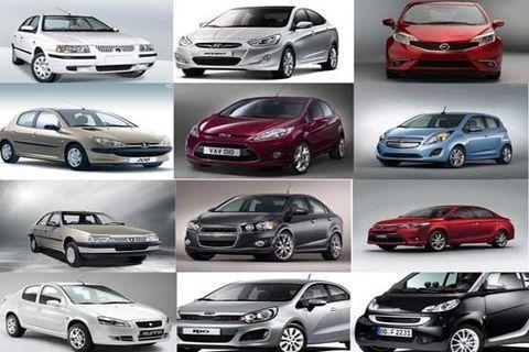 قیمت روز خودرو در ۵ بهمن