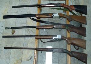 اعضای باند قاچاق سلاح و مهمات مازندران در دام قانون