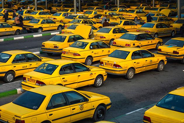 حذف سوخت تاکسیهای فاقد پروانه با دستور وزارت کشور