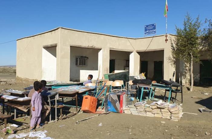 آخرین وضعیت تحصیل دانش آموزان سیلزده در جنوب سیستان و بلوچستان