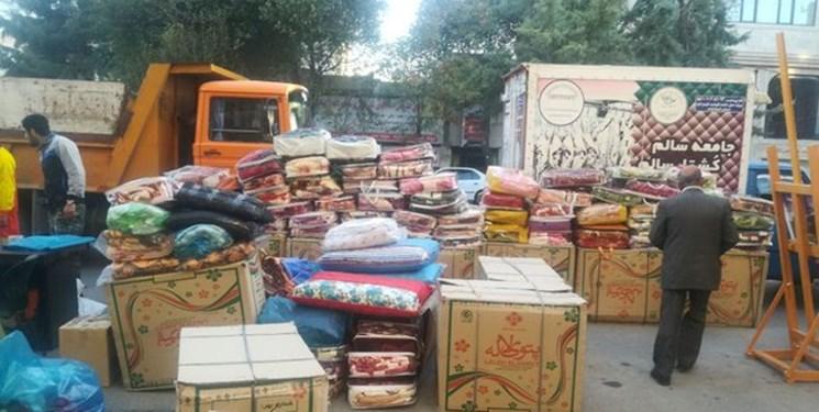ارسال کمکهای مردمی ایلام به سیل زدگان سیستان و بلوچستان