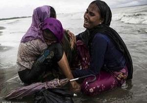 ارتش میانمار یک زن مسلمان روهینگیایی باردار را کُشت