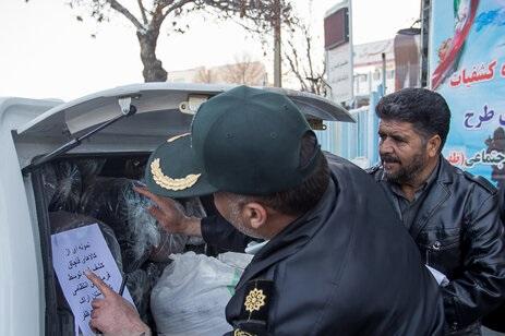 پاکسازی شهر اراک از قاچاق با اجرای طرح ظفر ۵