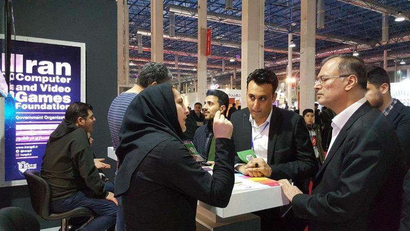 خدمات بنیاد ملی بازیهای رایانهای در نهمین نمایشگاه «شهر هوشمند» معرفی شد