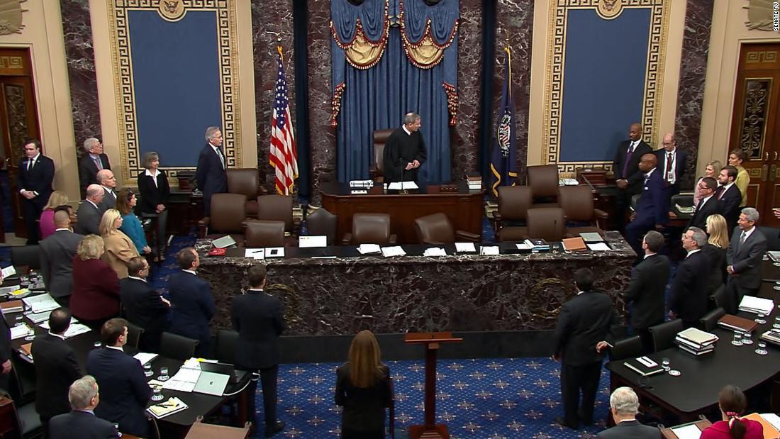 آغاز جلسه دفاعیه ترامپ در سنای آمریکا