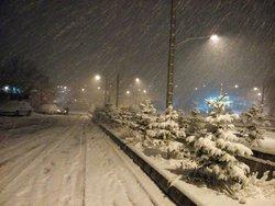 آغاز دوباره بارش برف در فارس