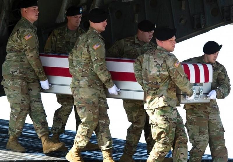 تابوت نظامی آمریکا