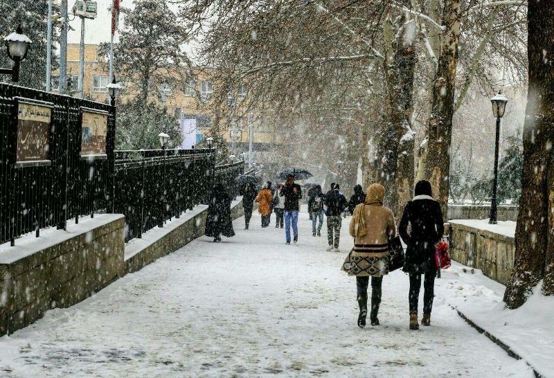 امروز سردترین روز سال در استان همدان