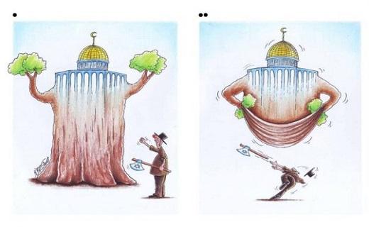 درخشش کاریکاتوریست قمی در جشنواره بینالمللی