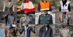ماجرای «جهادگران فراری» در منطقه سیلزده/ این افراد را شناسایی کنید! + تصاویر