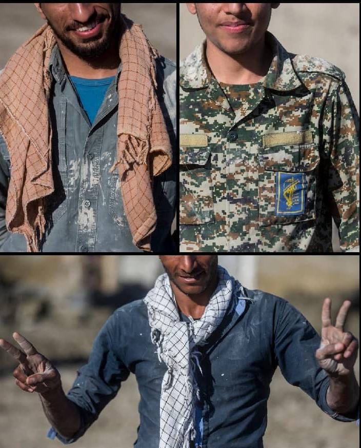 سیل و ماجرای تصاویر «جهادگران فراری»؛ این افراد را شناسایی کنید