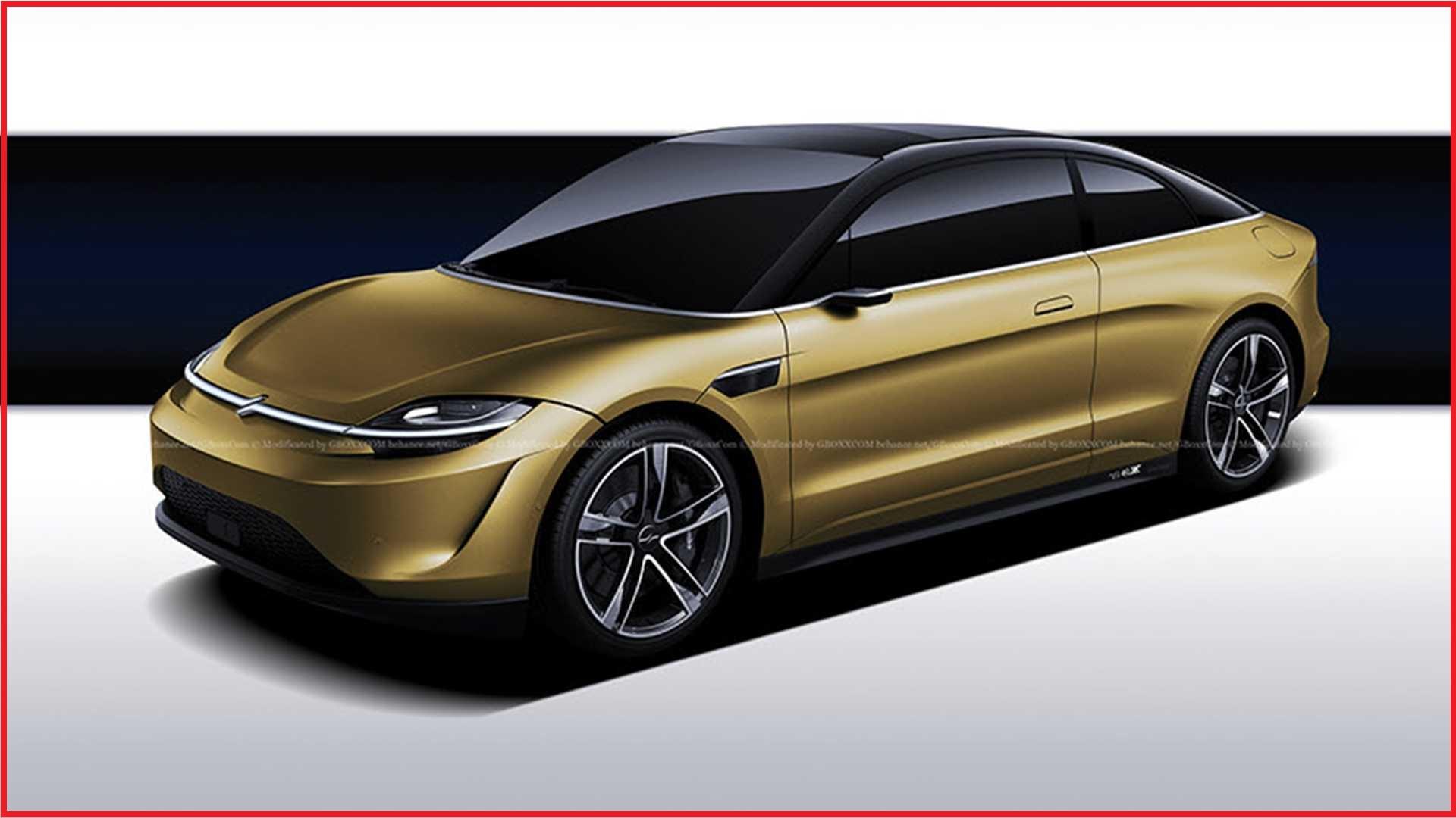 طرح مفهومی جدید از خودرو سونی