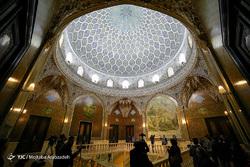 بازدید اهالی رسانه از «کاخ مرمر»