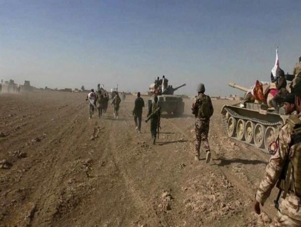 پیشروی نیروهای یمنی