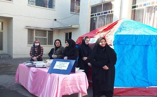 سیل مهربانی دانش آموزان استان قزوین راهی سیستان و بلوچستان شد