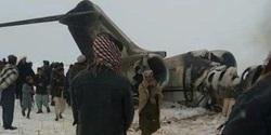 طالبان مسئولیت سرنگونی هواپیمای جاسوسی آمریکا را برعهده گرفت + فیلم و تصاویر