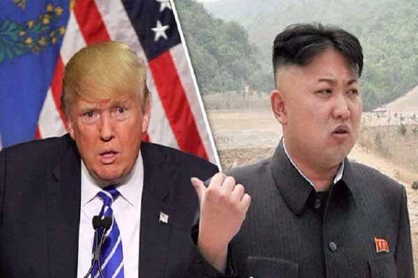 کره شمالی برابر آمریکا آرایش جنگی گرفت