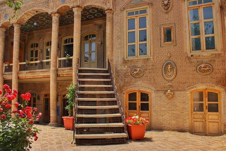خانه داروغه میراث دار معماری سنتی ایرانی/ اولین شومینه شهر مشهد در عمارت  اردکانی ساخته شد