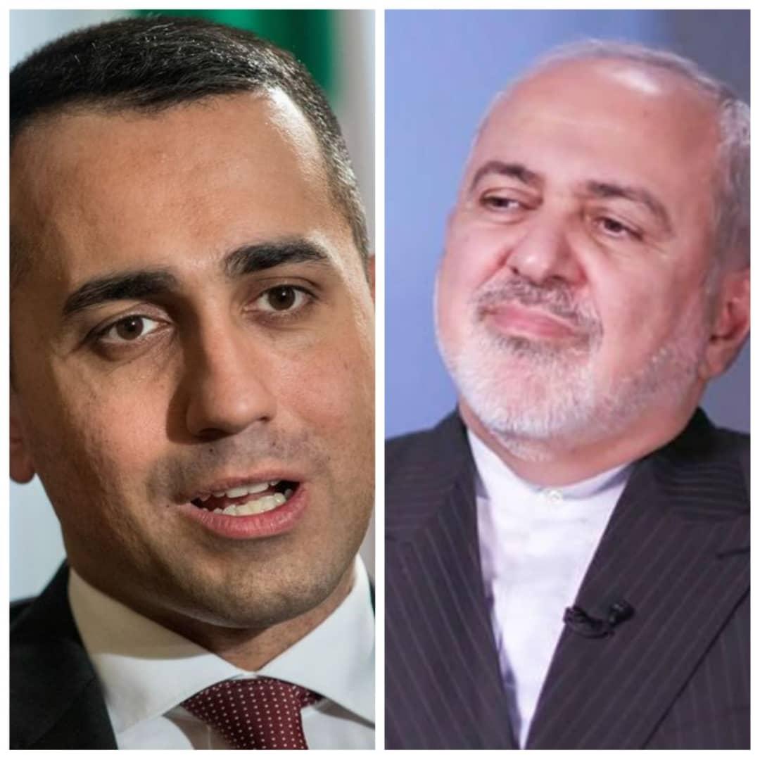 باشگاه خبرنگاران -تماس تلفنی وزرای خارجه ایران و ایتالیا