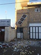 باشگاه خبرنگاران -خسارت ۱۰ تا ۳۰ درصدی به برخی واحدهای مسکونی در خانه زنیان