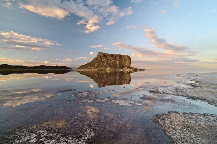 آخرین وضعیت دریاچه ارومیه در سال ۹۸/ پروژههای ملی نجات دریاچه تا سال آینده به بهره برداری میرسد