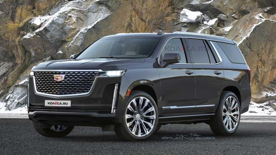 انتشار تصاویر تازه از خودرو Cadillac Escalade